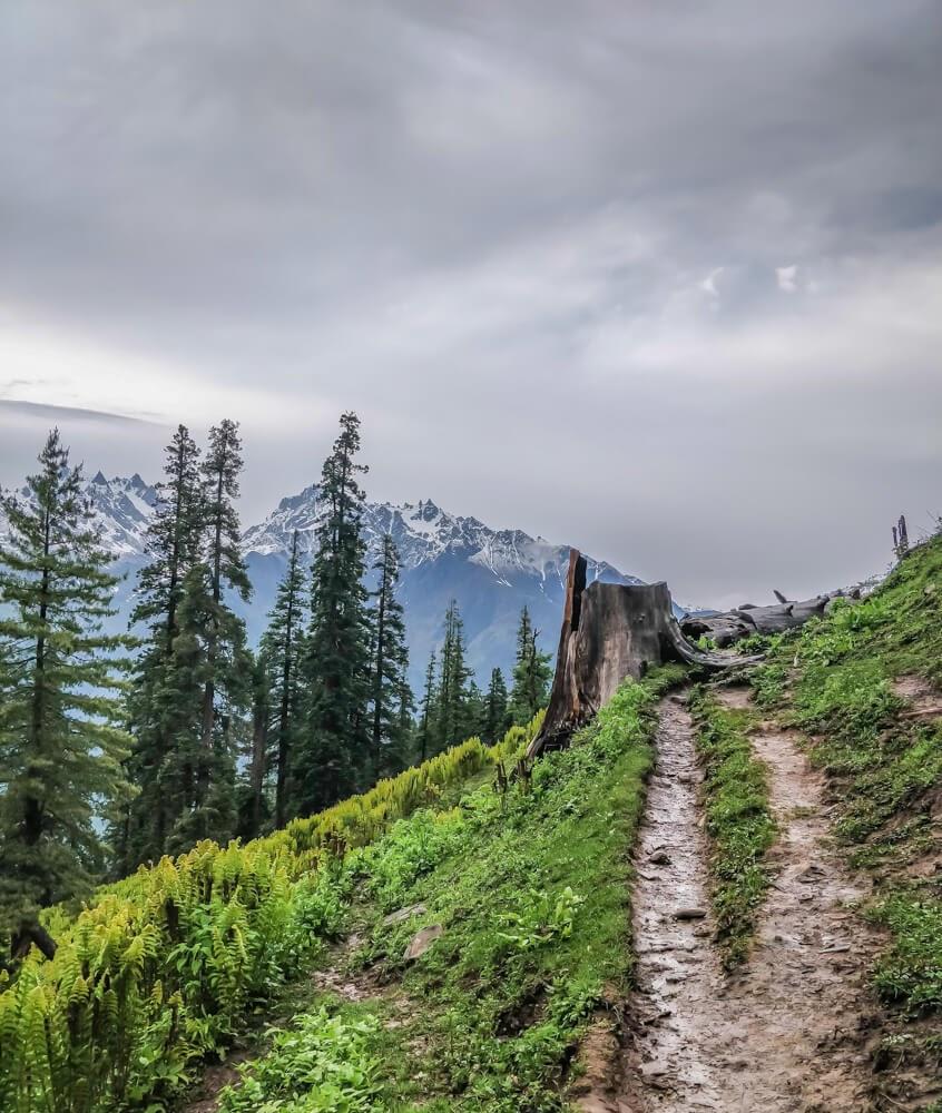 bunbuni+trek parvati+valley+himachal+pradesh+india