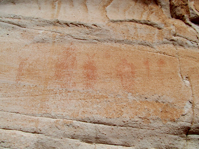Close-up of the best faded pictos