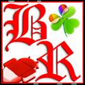 GOWidget Red ICS Light Free icon