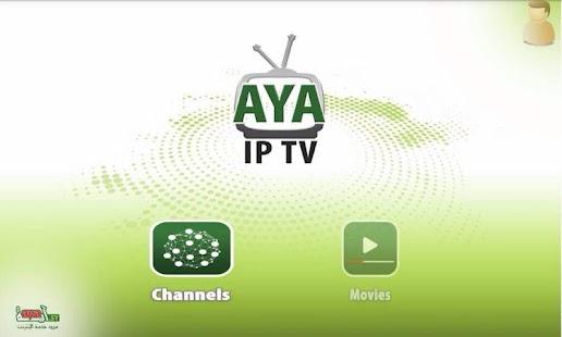 AYA TV - náhled