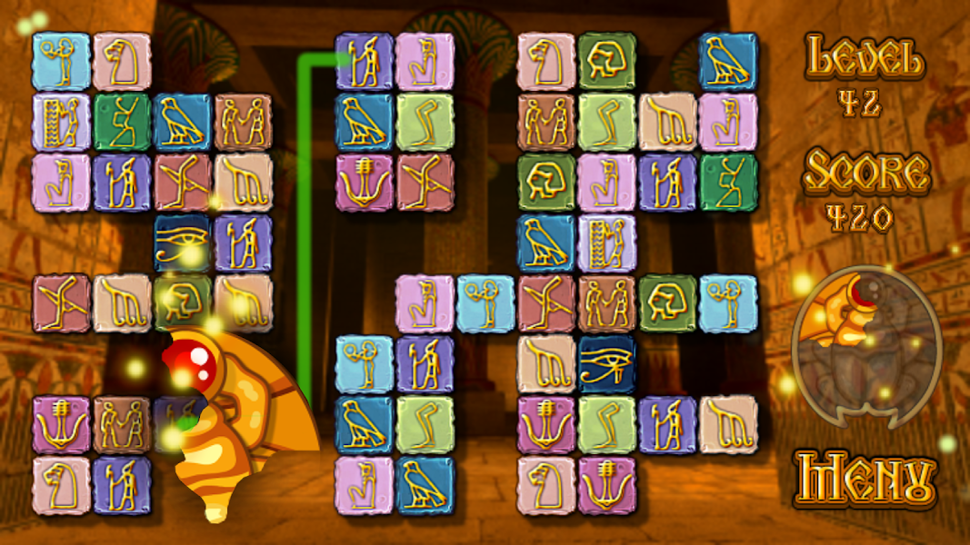 Pyramid Quest - Matching Tiles