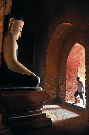 Head off the beaten track, and you'll have the ancient temples of Bagan, Myanmar, all to yourself.