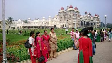 Photo: Mysore palace - kočky!