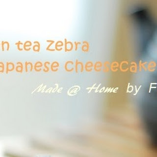 Green Tea Japanese Cheesecake Recipe