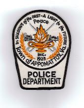 Photo: Appomattox Police (Defunct)