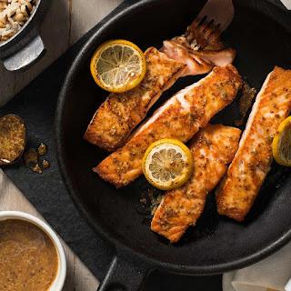 Maple Mustard Salmon.