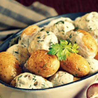 New Potatoes In Sour Cream