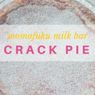 Momofuku Milk Bar Crack Pie Recipe