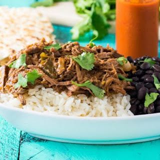 Slow Cooker Cuban Shredded Beef (Ropa Vieja).