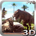 Dinosaurs 3D Pro lwp Icon