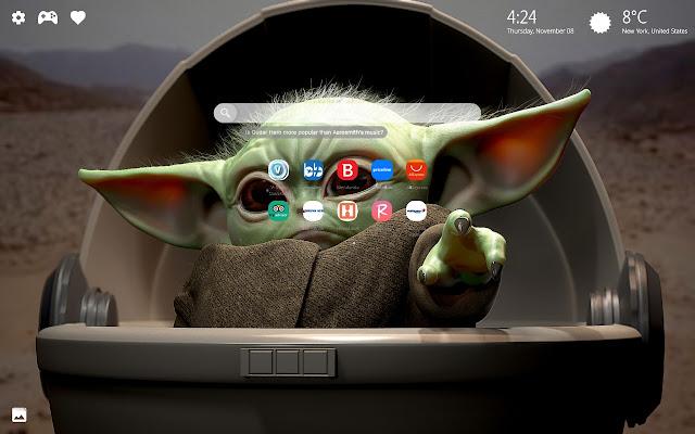 Baby Yoda Meme Wallpapers New Tab