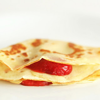 Brandied Berry Crepes