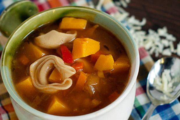 Photo: Harvest Tortellini Soup Recipe: http://www.thedailymeal.com/7-creative-butternut-squash-recipes-slideshow#5
