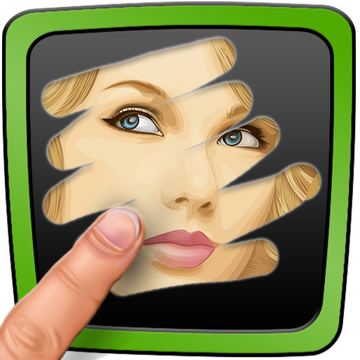 Scratch Celebrity Quiz. Guess famous people puzzle (game)