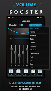 Volume Booster: Music Equalizer & Bass Booster for PC-Windows 7,8,10