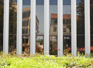 Photo: City hall or jail bars?