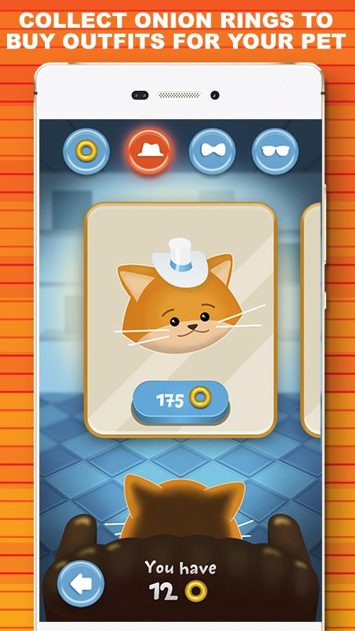 Curly Wings 🐱 Cat Lovers Game – скриншот