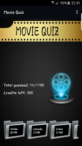 android Movie Quiz Screenshot 0