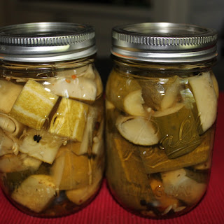 Garlic Dill Pickles.