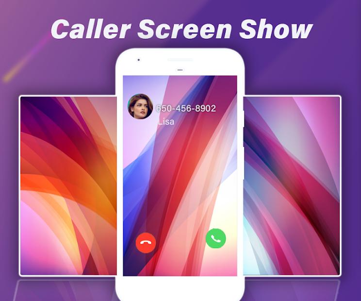 Caller ID: Dynamic Caller Screen for Phones Android App Screenshot