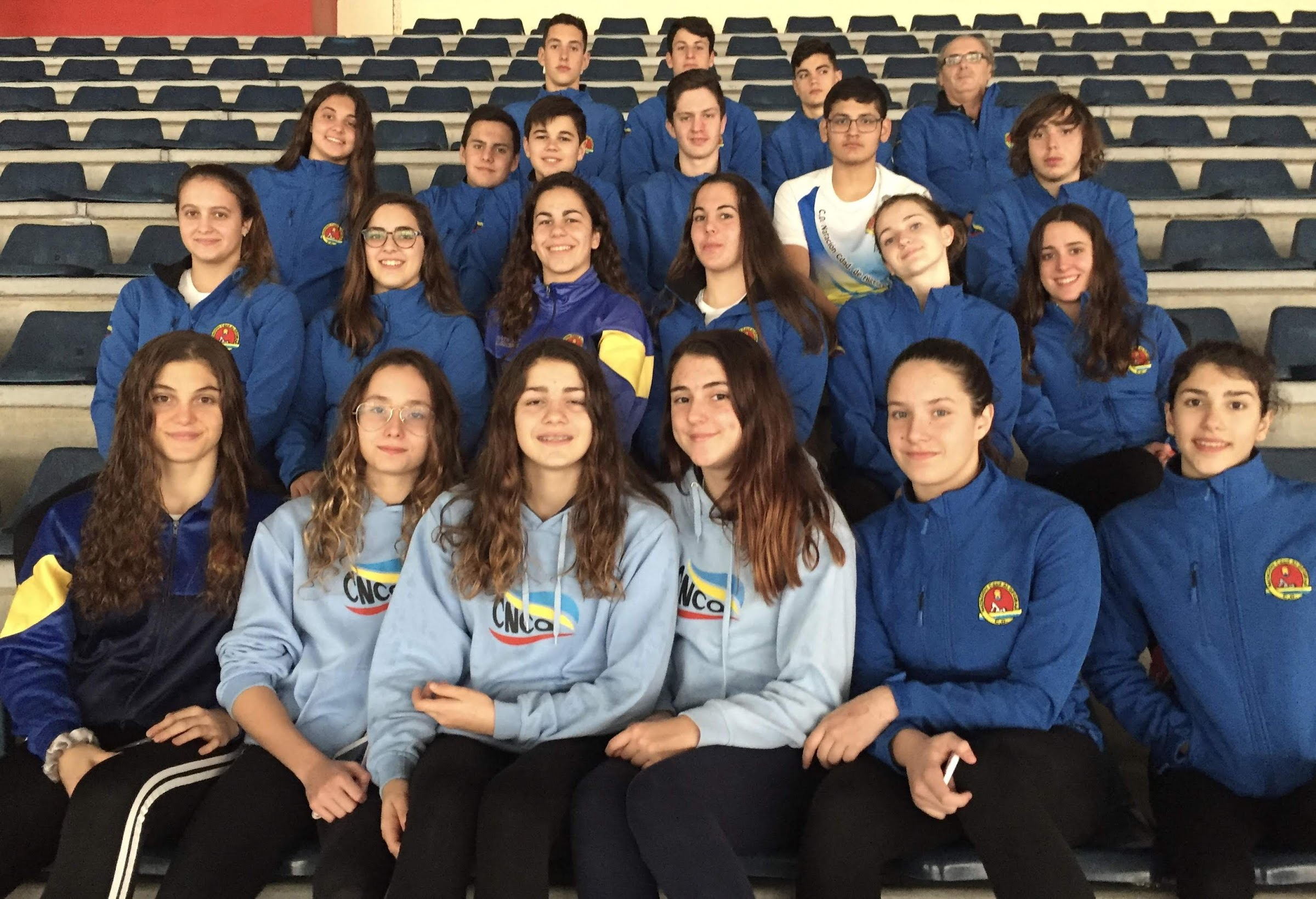 El CD Natación Ciudad del Algeciras Subcampeón femenino provincial