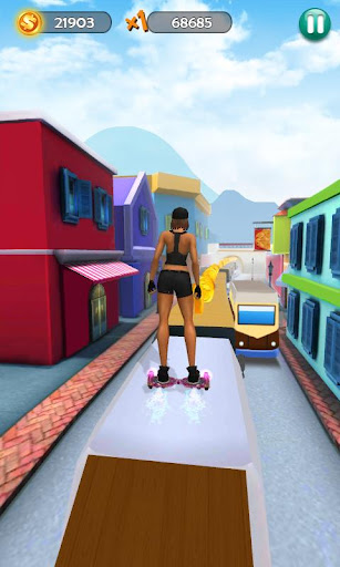 Hoverboard Surfers 3D screenshot