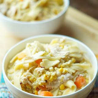 Instant Pot Chicken Pot Pie Soup Recipe
