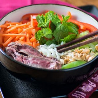 Shirataki Noodle Buddha Bowl.