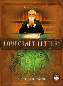 Box art for Lovecraft Letter ( source: Published by Z-Man Games )