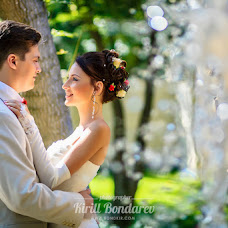 Wedding photographer Kirill Bondarev (BondKir). Photo of 18.05.2015