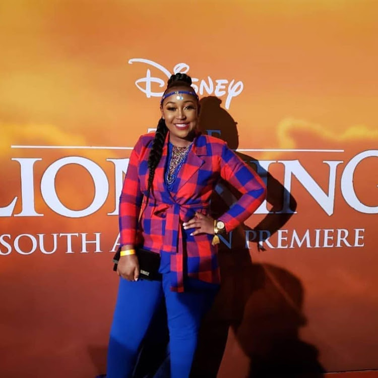 Betty Kyallo at Lion King Premiere in South Africa