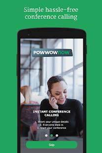 Powwownow - náhled