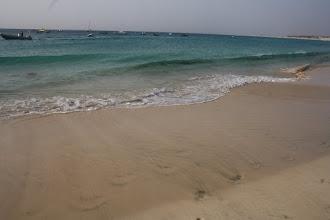Photo: Härlig strand att gå på.