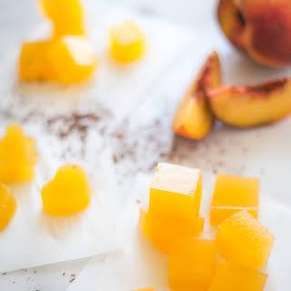 Peach-Rooibos Tea Fruit Gummies.