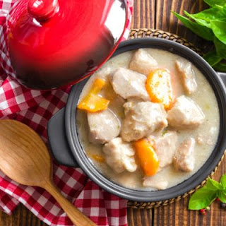The Best Crockpot Chicken Stew