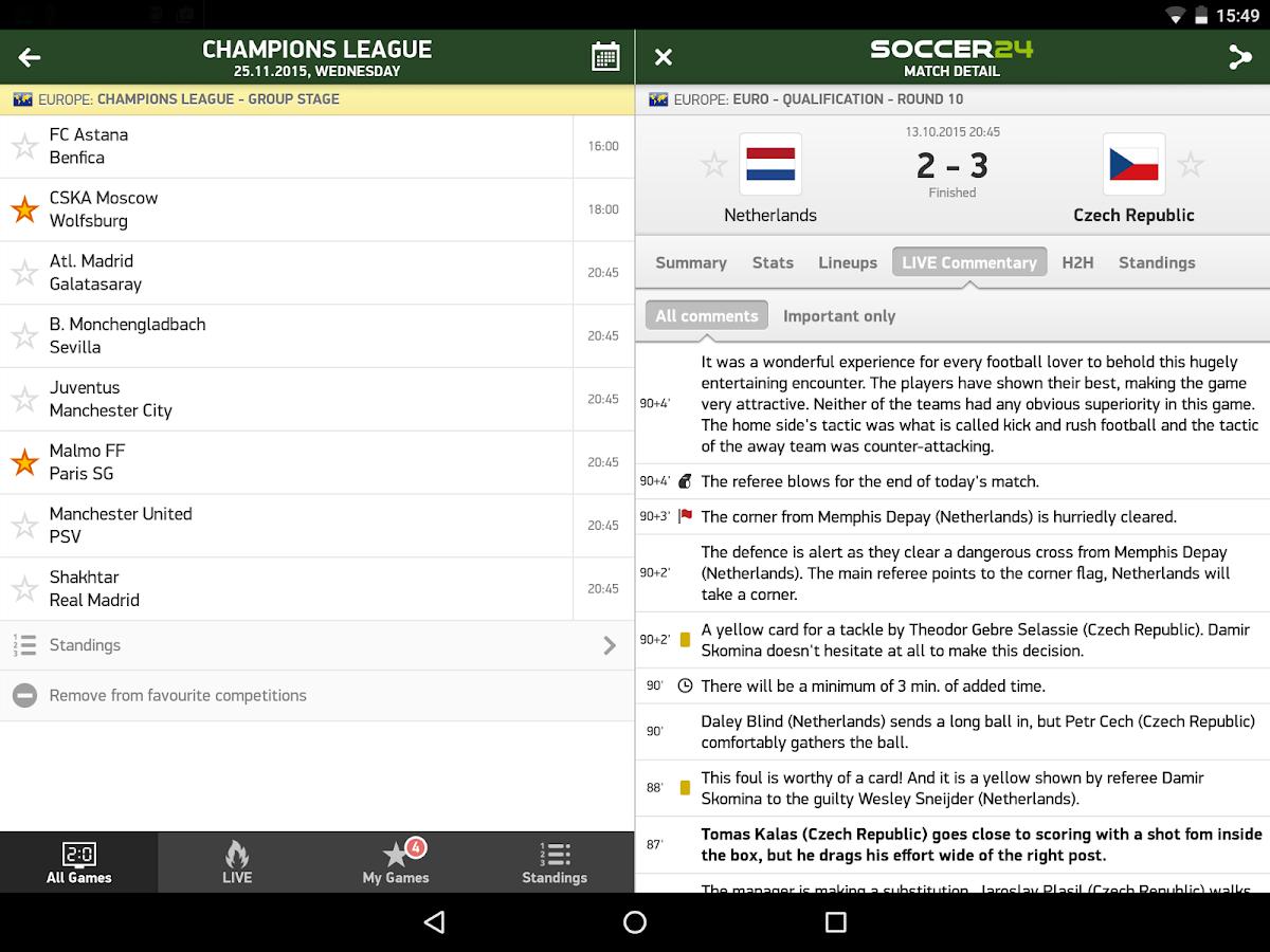 Fotbal 24 Livescore
