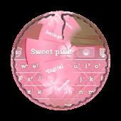Sweet pink GO Keyboard