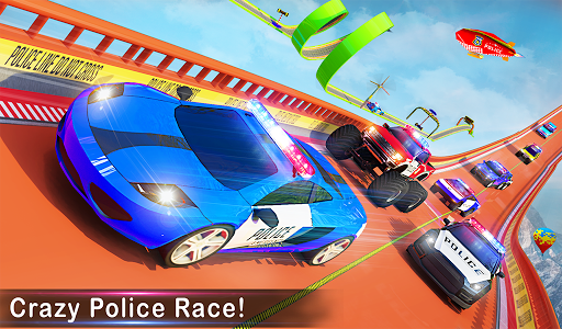 Police Ramp Car Stunts GT Racing Car Stunts Game 1.3.0 screenshots 19