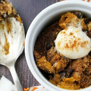 Gluten Free Slow Cooker Pumpkin Pudding.