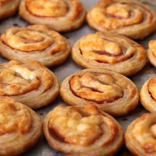 Puff Pastry Pizza Roll-Ups