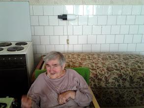 Photo: A 92 éves Jolánka néninél
