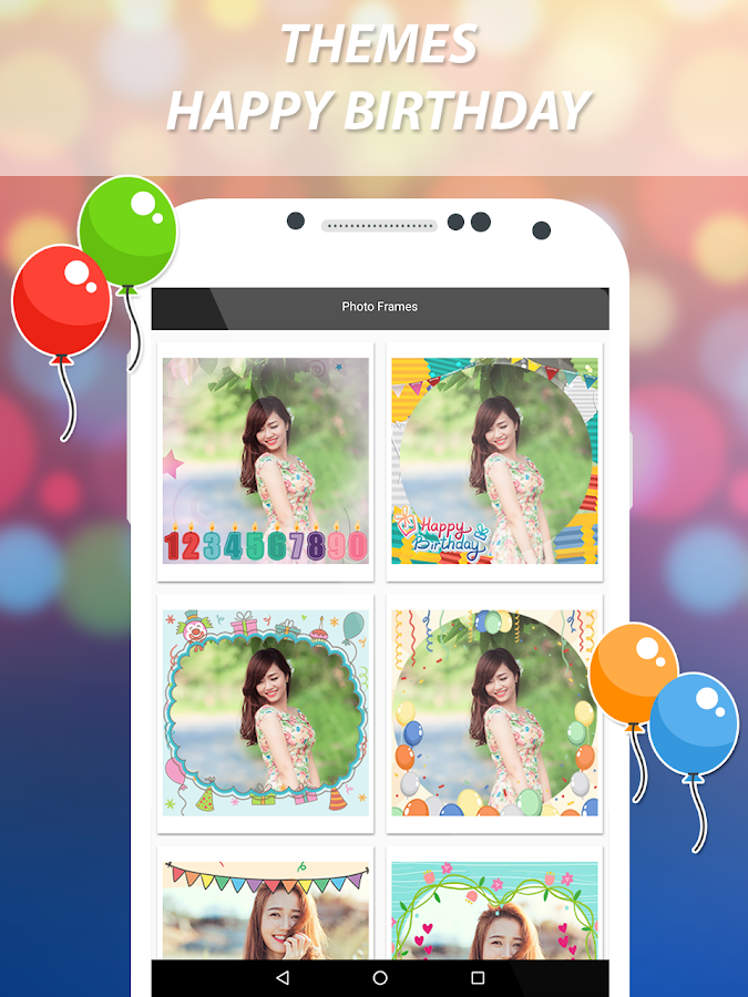 Birthday Video Maker- screenshot