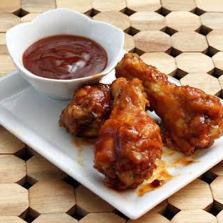 Saucy Jack Daniel's Barbecue Chicken Drumettes.