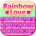 Rainbow Love Keyboard Theme icon