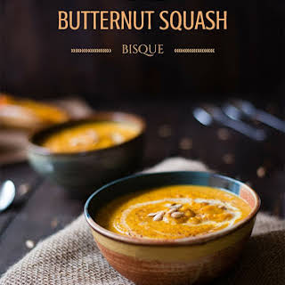 Butternut Squash Bisque.