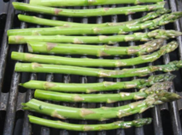 Grilled Garlic Asparagus Recipe