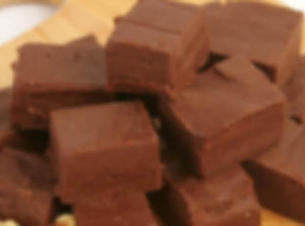 Old Fashion Dark Chocolate Fudge
