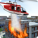 Modern Firefighter Helicopter icon