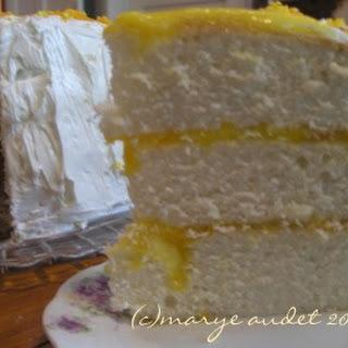 Mile High Butttermilk Cake