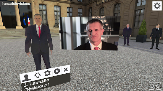 Présidentielle 2017 VR- screenshot thumbnail